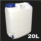 20L Drum/Can - NO TAP 2 Lids