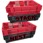 Nest & Stack Freezer Crate