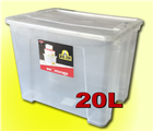 20L Alpha Clear Box