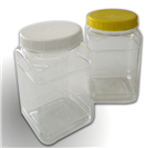 PET Sweet Jar- 2L Square