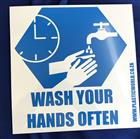 Hand Wash Sign 290 x 290mm