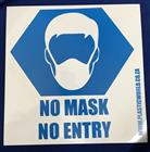 MASK SIGN 290x290mm